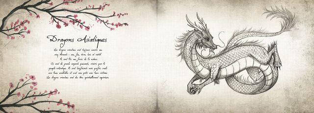 Le Grimoire des Dragons, voyage en Asie - extraits + dessins - L'antre littéraire de Marine
