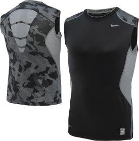 Nike Men's Hypercool Fitted Camo Sleeveless Shirt - Dick's Sporting Goods