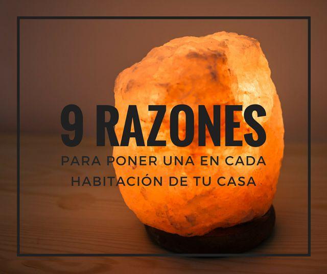 M s de 25 ideas incre bles sobre lamparas de sal en - Piedra de sal del himalaya ...