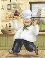 Happy Chef II Fine Art Print