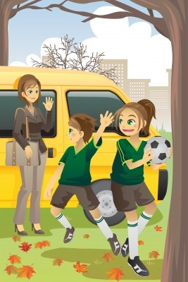 Soccer moms: love cheering your kids on at the game but hate the long ride home with the stink of the sports gear? We have the answer.    Our soccer bags are the perfect way to contain the smell. Their silver lining kills bacteria on contact and does not allow the stink to permeate the bag, meaning your car stays fresher no matter how intense the game was.