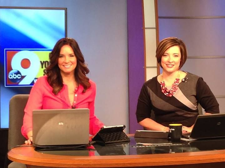 Greatest news team ever...Tanya O'Rourke and Katherine Nero