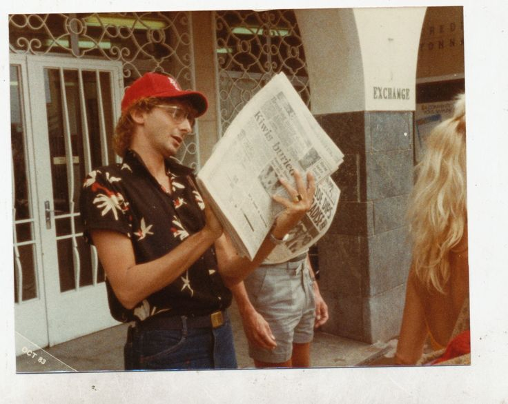 Barry Manilow & Suzanne Somers in Europe in 1983