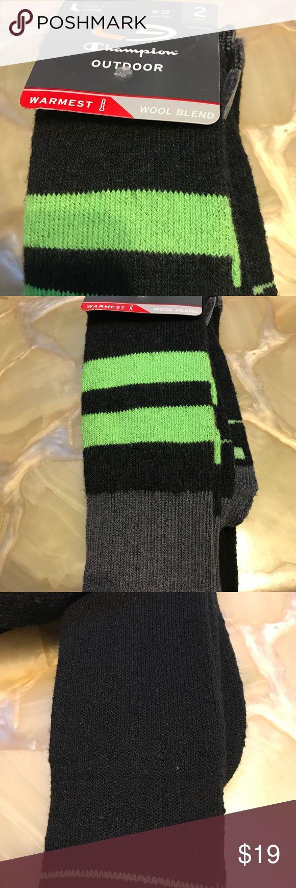 Champion Wool Blend Warm Thick Socks NWT New Champion Underwear & Socks Casual Socks