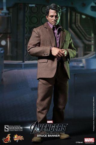 Hot Toys Bruce Banner Sixth Scale Figure. alteregocomics.com #hulk #brucebanner