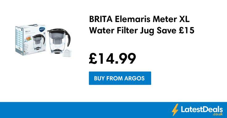 BRITA Elemaris Meter XL Water Filter Jug Save £15, £14.99 at Argos