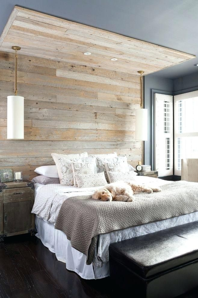 Hinter Bett Wand Dekor Innenarchitektur 2018 Pinterest Bedroom