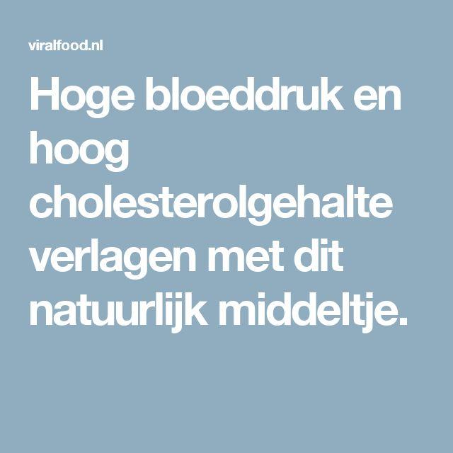 Hoge bloeddruk en hoog cholesterolgehalte verlagen met dit natuurlijk middeltje.
