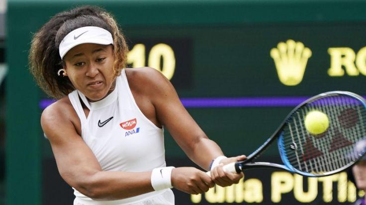 Tennis: Naomi Osaka knocked out of Wimbledon in 1s…