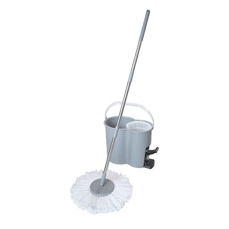 spin it 360degree wringing spin mop and bucket with bonus mop head