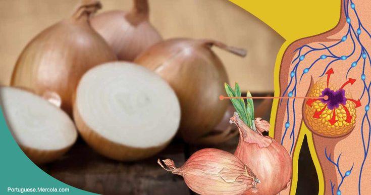 As cebolas são uma excelente fonte de quercetina saudável que ajuda o coração e o combate ao câncer e contêm mais polifenóis que combatem doenças do que até mesmo o alho ou o alho-poró. http://portuguese.mercola.com/sites/articles/archive/2018/01/15/beneficios-das-cebolas-para-a-saude.aspx