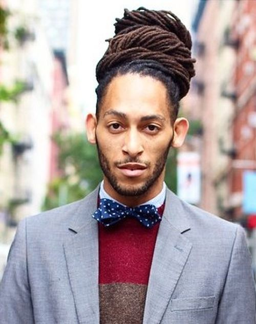 man+bun+with+thin+dreadlocks