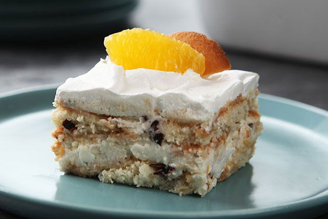 No advanced pastry chef training required to make this Orange-Cannoli Refrigerator Cake. Get out the vanilla wafers and give it a try tonight!