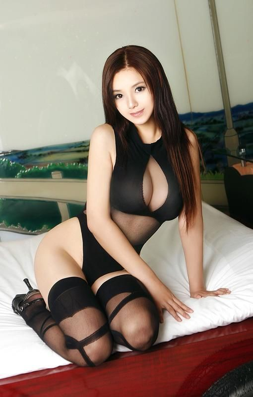 Sexy Asian Girl Model Cosplay Lingerie