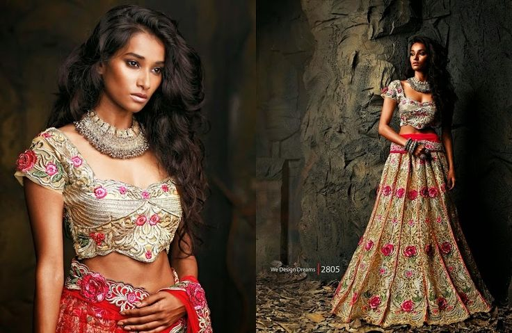 Beautiful collection of Netted Wedding Lehenga with heavy embroidery work en-crafted in Beige color. Along with Contrast Matching Netted Duppatta and Blouse.