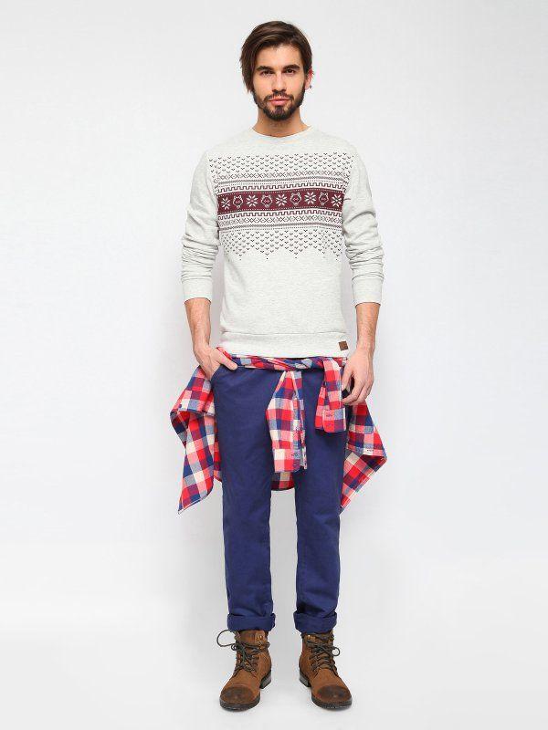 #Bluza męska ze wzorem, bluza na święta