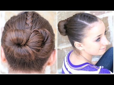 How to Create an Infinity Bun | Updo Hairstyles #hairstyles #updo #CGHinfinitybraid #twists