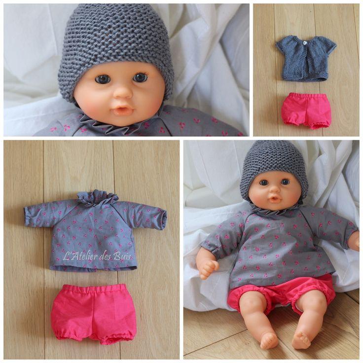 Des vêtements pour bébé Corolle – L'atelier des Buis