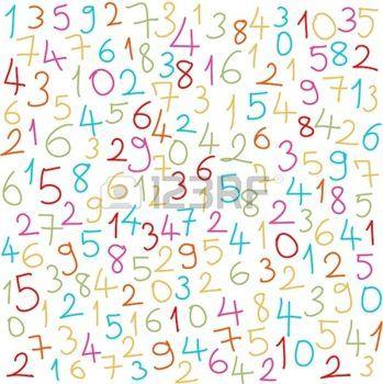 26. El conjunto de NÚMEROS NATURALES está formado por números que son sus elementos. Este conjunto está ordenado y sus elementos se colocan en secuencia. Decimos que un número natural es el cardinal de un conjunto finito.