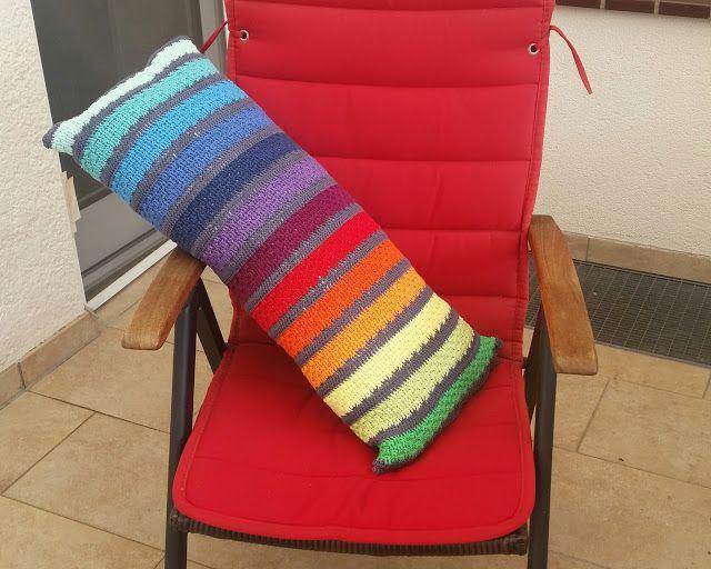 My world of crochet: Mein Pool Kissen