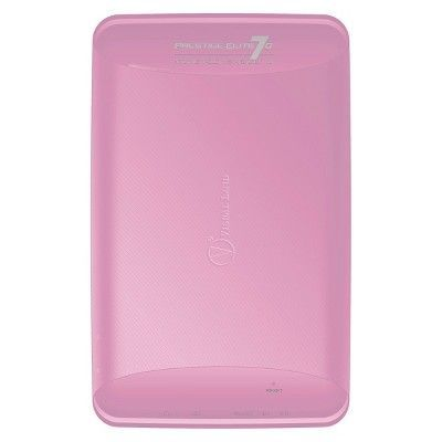 Prestige Elite 7Q 7 QuadCore 8GB KitKat 4.4 Android Tablet, Wifi, 2MP Camera, 1024x600 Touchscreen, Pink