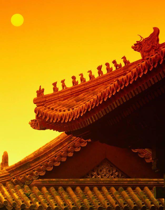 Kielletty kaupunki lukeutuu Pekingin upeimpiin nähtävyyksiin. #ForbiddenCity #Beijin #China