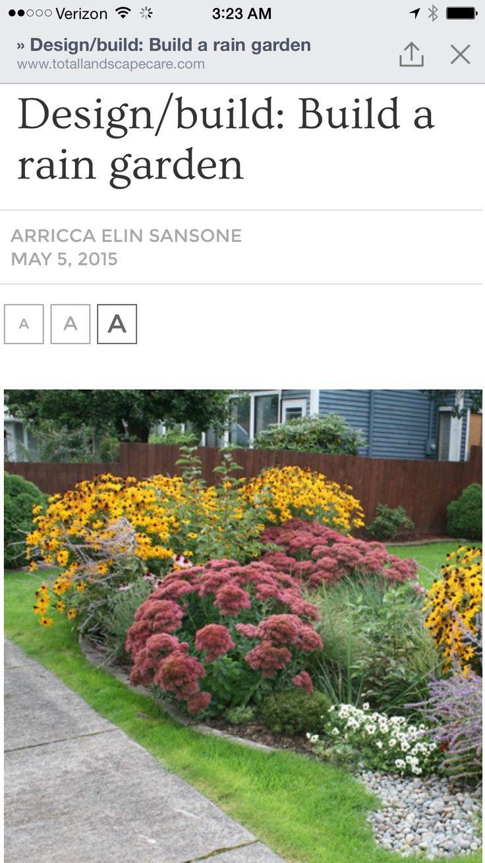 126 best images about Rain Gardens on Pinterest Parks