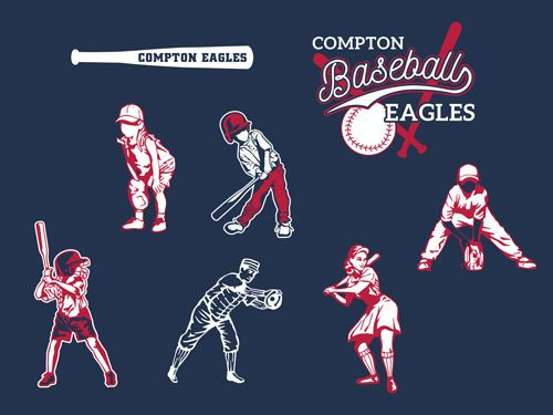 New Baseball and Softball Layouts and Clip Art for Custom T-shirt Designs | Transfer Express  www.TransferExpress.com