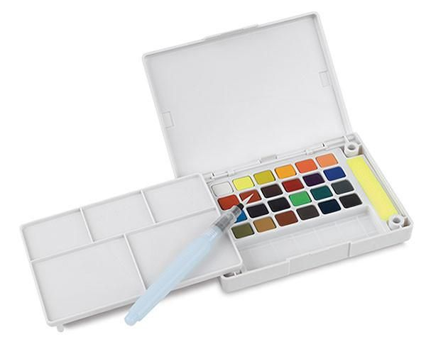 Sakura Petit Color Watercolor Field Sketch Box Set 24 Color