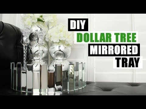 #dollartreediy #dollartree #homedecor It's another DI9ollar Tree DIY home decor project! This time I show you how to make a Dollar Tree round mirrored…