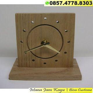 Jam Dinding Kayu Unik 15d6529301
