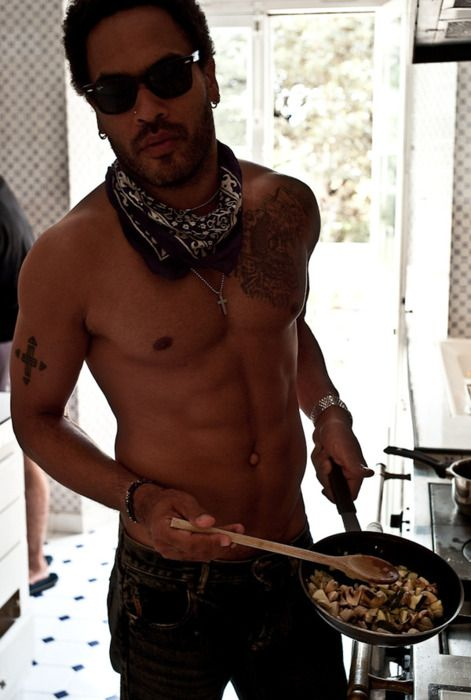 Lenny Kravitz...He's so amazing. I don't think he can be categorized. He's outside of the box. :^)