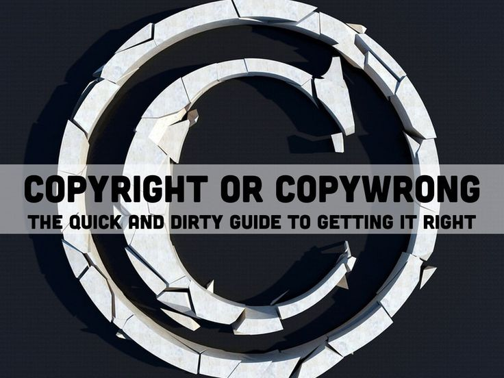 """""""Copyright or Copywrong? The Quick and Dirty Guide to Getting it Right"""" - A Haiku Deck Presentation by Naomi Pariseault for UPCEA NE 2015"""
