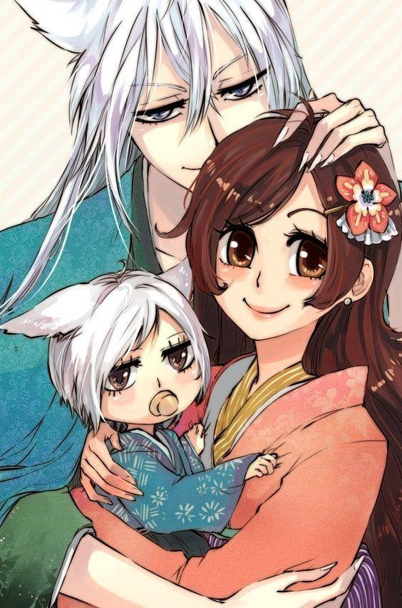 Картинки томоэ и нанами с их ребенком