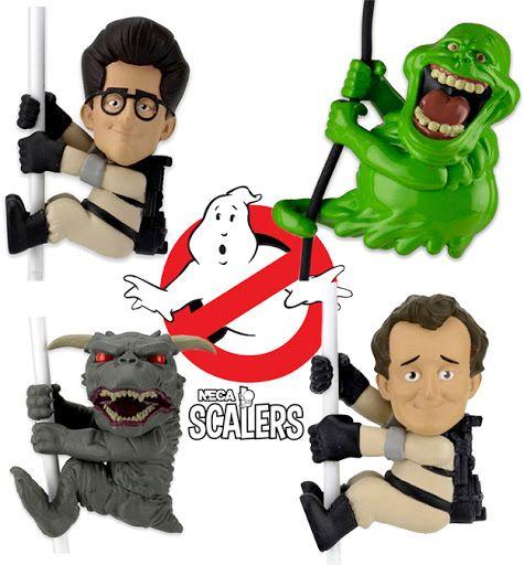 Neca Scalers Ghostbusters Série 1 – Mini-Figuras dos Caça-Fantasmas