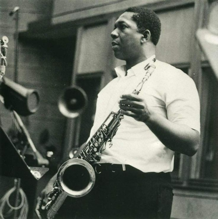 "Trane at his ""Ascension"" date June 1965."