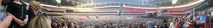 All of Wembley watching Bruce Springsteen