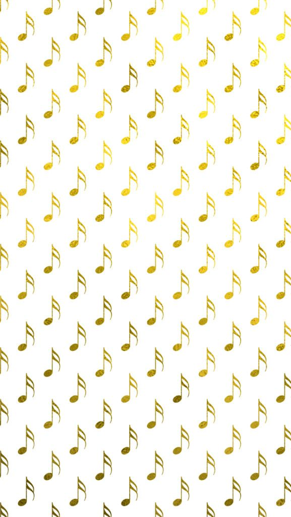 gold foil musical notes iphone 5 wallpaper and iphone 6