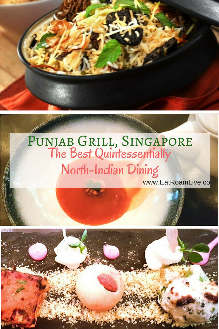 Punjab Grill, Singapore, is as quintessentially North-Indian as it can get with lip smacking vegetarian treats that have won many hearts and awards as well.