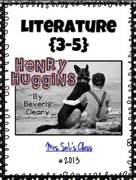 Fun and engaging chapter activity sheets to go along with Beverly Cleary's Henry Huggins. Novel study includes comprehension questions, true/false, cloze, character studies, and many opportunities for creativity. Also includes final reflection or book report.