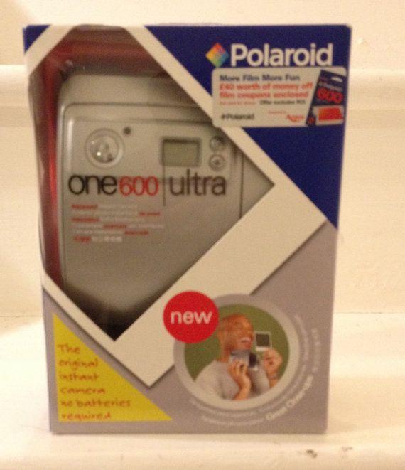 Vintage Polaroid One600 Ultra instant camera by PurpleLane168