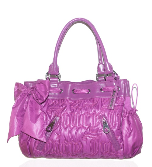 Juicy Couture Quilted Nylon Tote on glamouronthego.co.uk