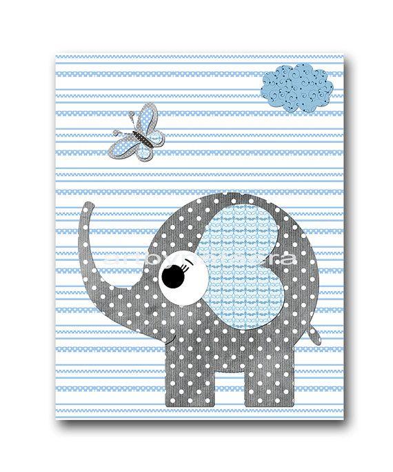 regalos de bebé elefante infantil bebé muchacho vivero Decor bebé guardería niños impresión arte impresión vivero imprimir niño arte elefante gris azul SIN MARCO - ESTA IMPRESIÓN ES EN PAPEL, O SOBRE LIENZO O EN PAPEL DE PEGATINA *** 1222 Para volver a mi tienda, haz clic aquí: