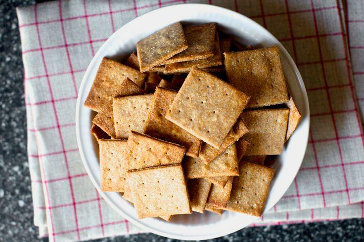 homemade wheat thins – smitten kitchen