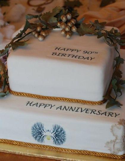 Nelson Mandela's 90th Birthday Cake