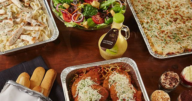 Olive Garden catering is available for pickup or delivery. Find restaurants near me.