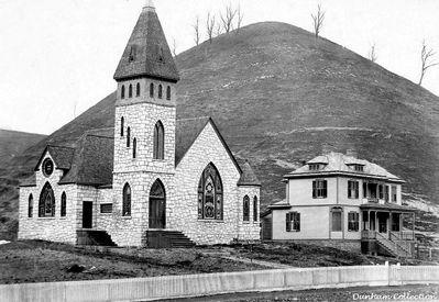 ... CHURCH / SALTVILLE, VA. / 1904 DUNHAM COLLECTION. Courtesy of Dn Smith