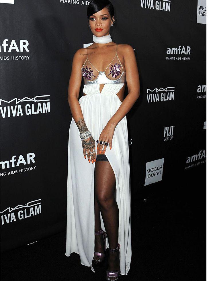 Rihanna en robe Tom Ford