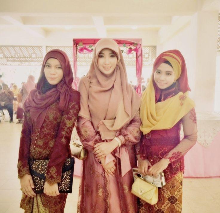 all the single (but not available) bridesmaid #Hijab #shar'i #weddingstyle #muslimfashion