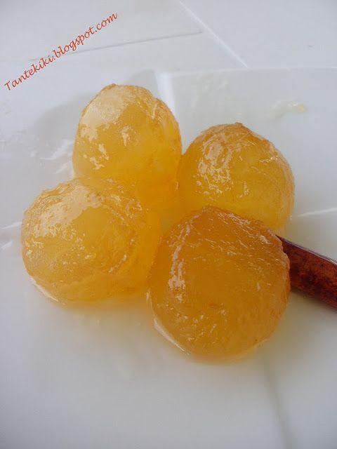 Tante Kiki: Γλυκό κουταλιού μήλο
